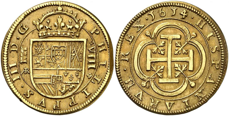 1614. Felipe III. Segovia. 8 escudos.