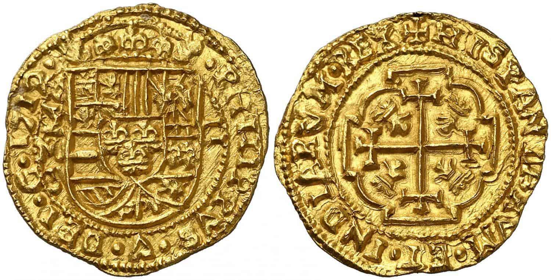 1712 1. Felipe V. México. J. 2 escudos