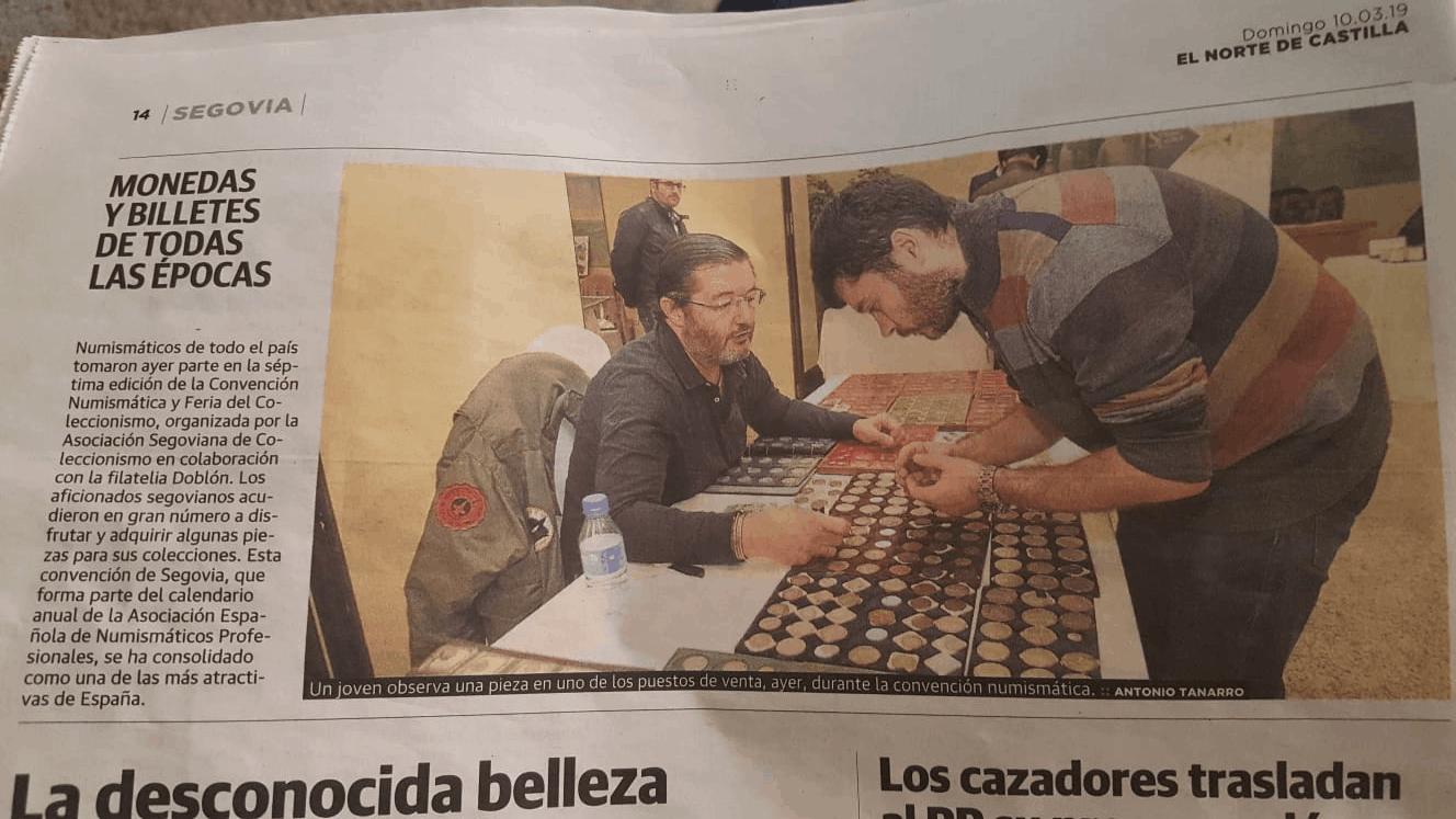 Crónica de la convención de Segovia 2019