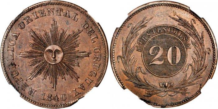 20 céntimos 1840