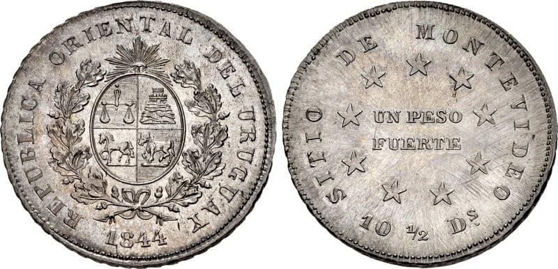 Peso del Sitio de Montevideo