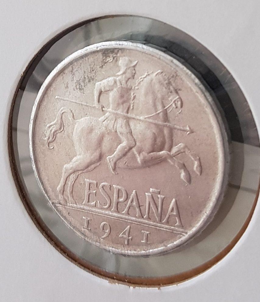 5 céntimos 1941