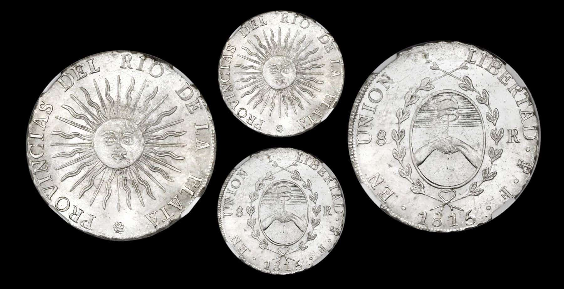 8 reales 1815, Potosí, Provincias Unidas del Río de la Plata