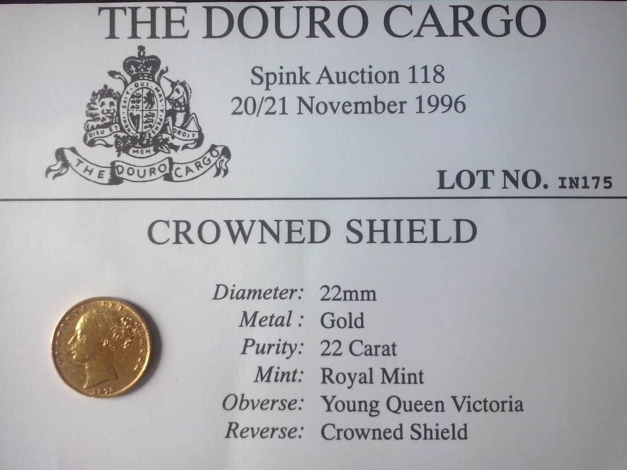 Un soberano del Douro con procedencia inventada