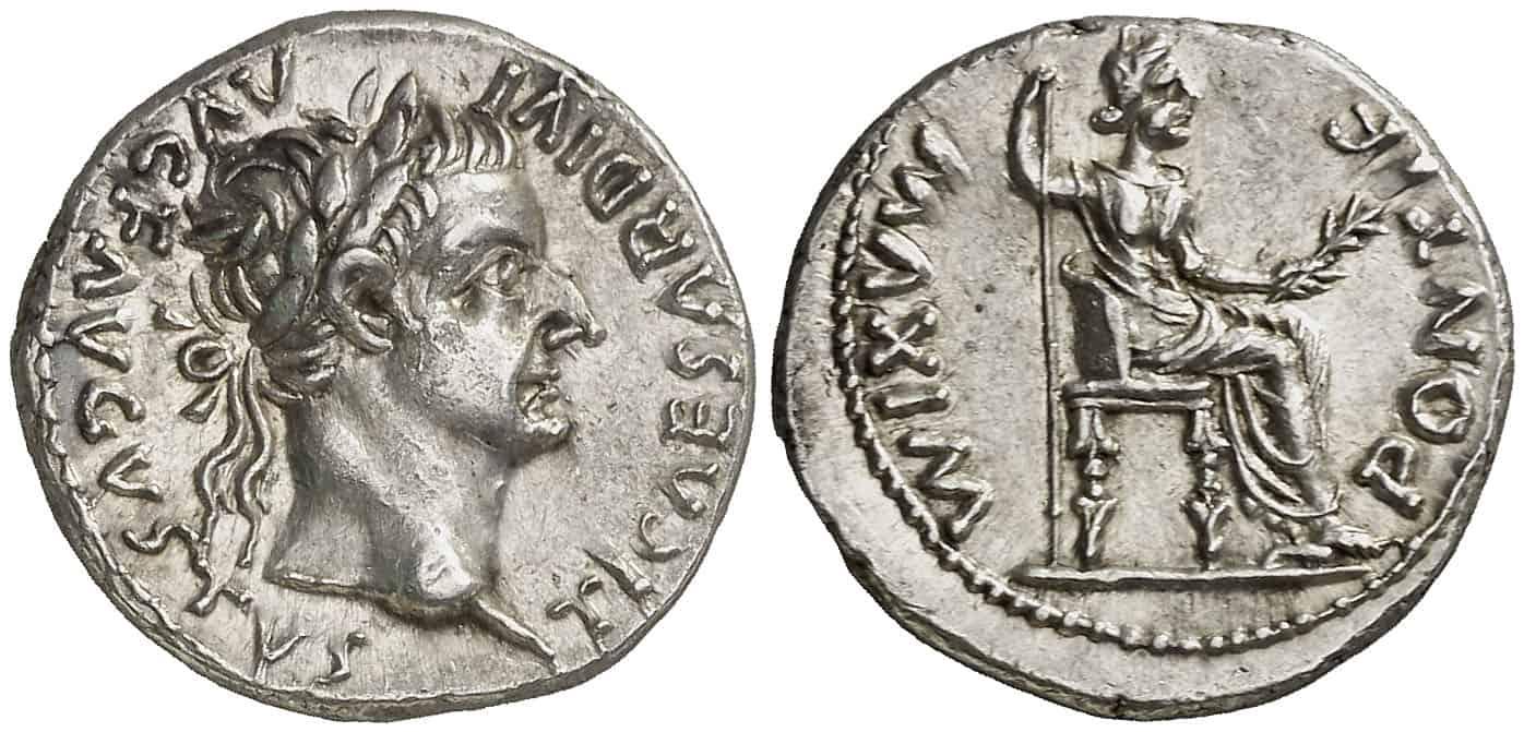 denario de Tiberio
