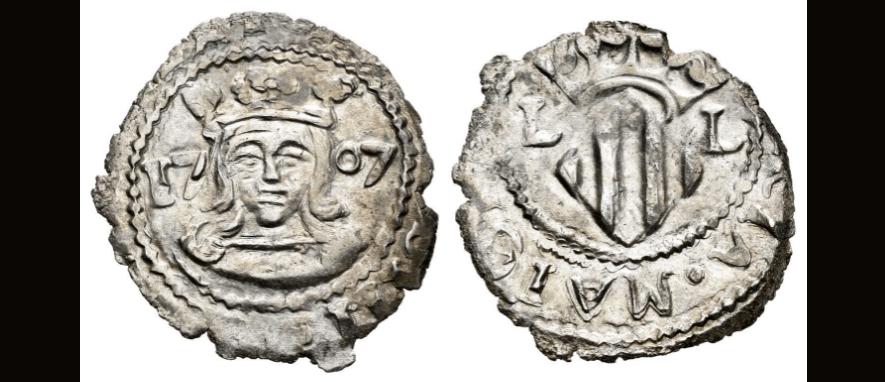 Dieciocheno valenciano, Carlos III 1707