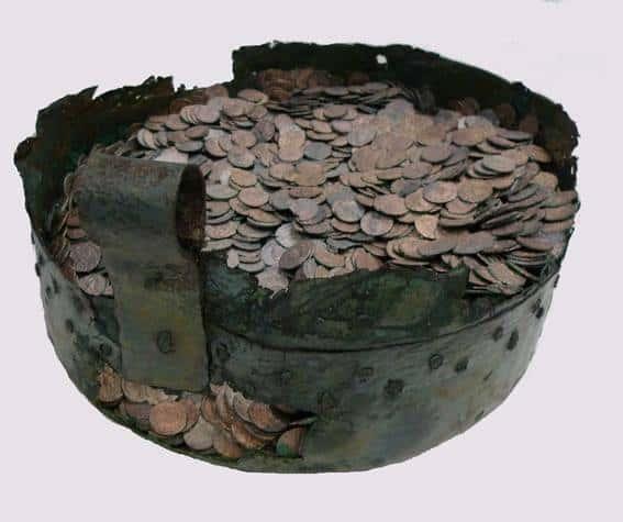 Aportaciones numismáticas de la provincia de Palencia: Tesoros encontrados