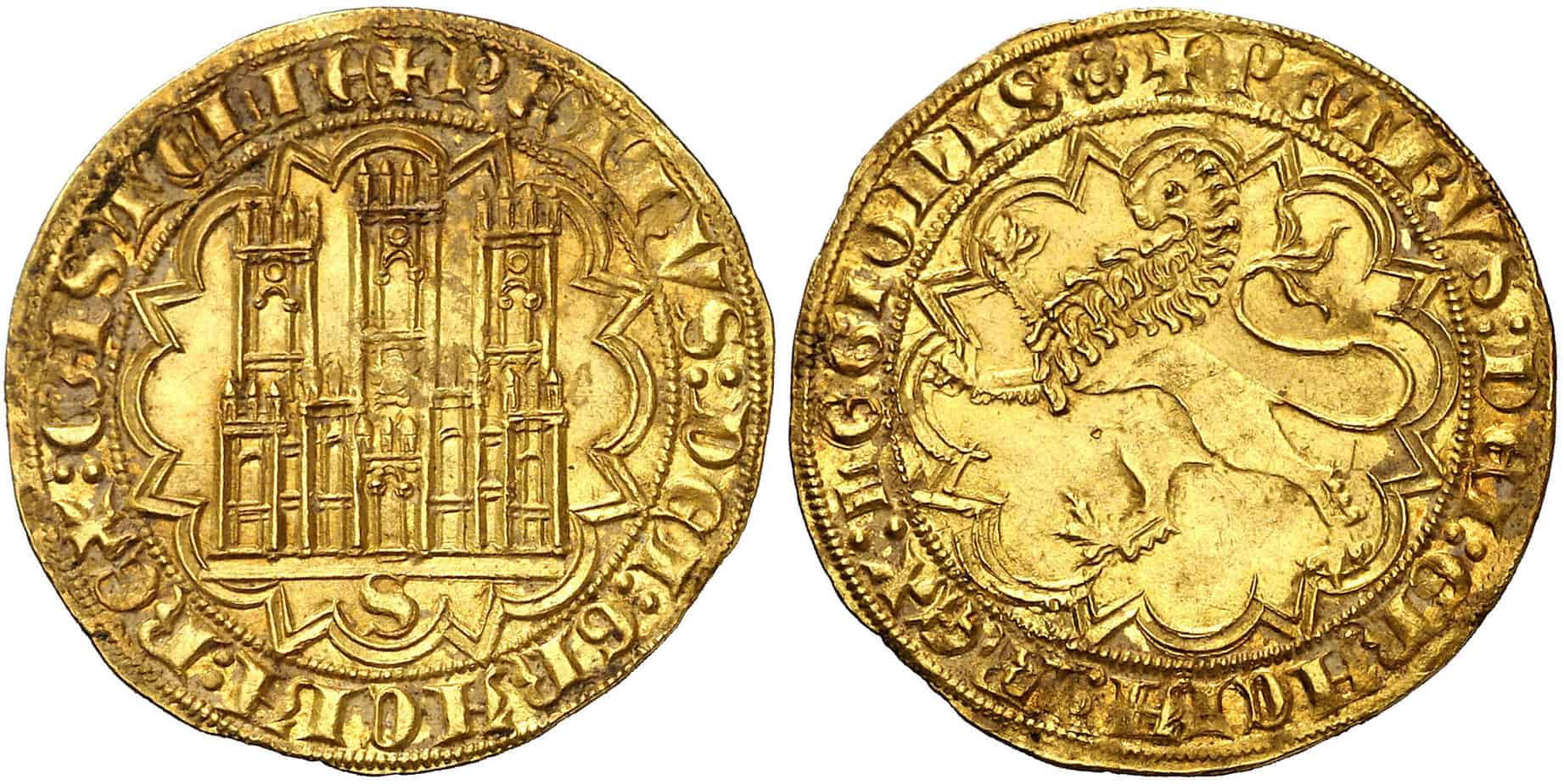Imagen 3: Dobla de 35 maravedís de Pedro I