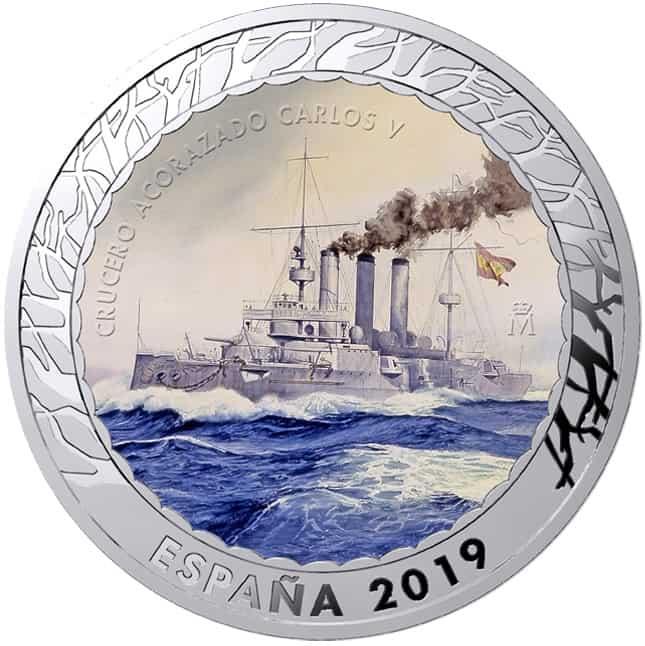 Moneda Acorazado Carlos V