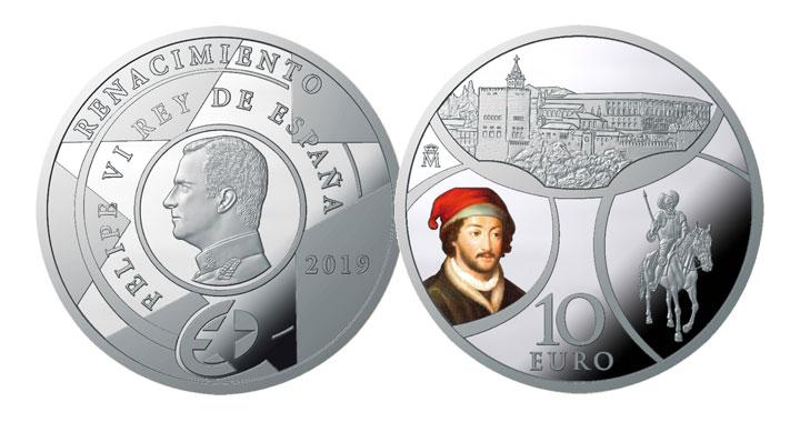10 euros Edades de Europa Renacimiento