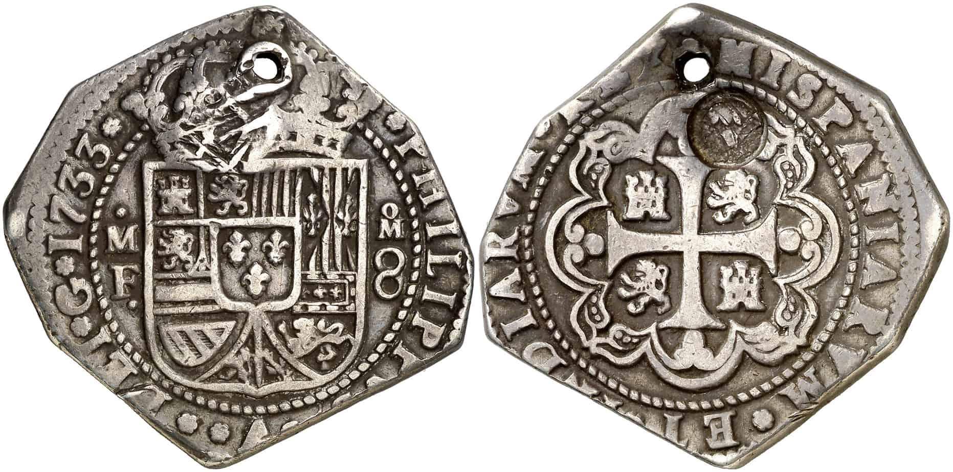 Coleccionar 8 reales de Guatemala