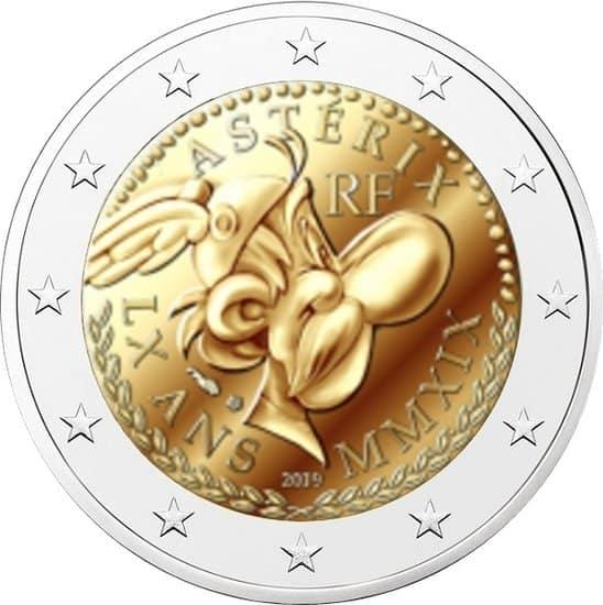 2 euros Asterix