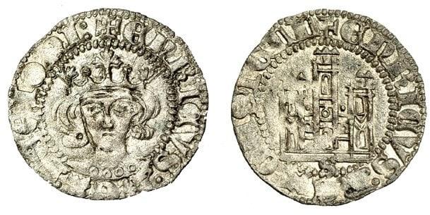 Cornado frontal de Enrique II de Sevilla