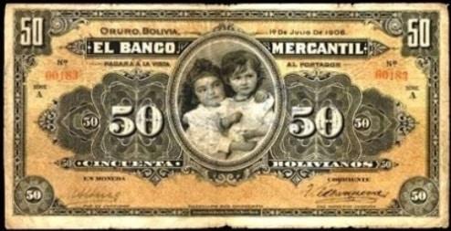 Una colección extraordinaria de billetes bolivianos