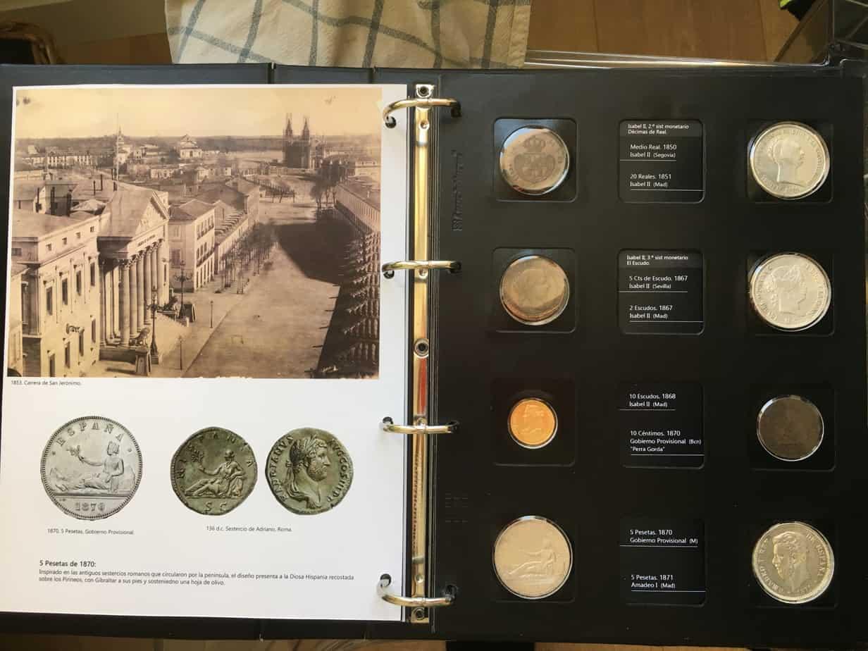 Construyendo nuestro propio álbum de monedas