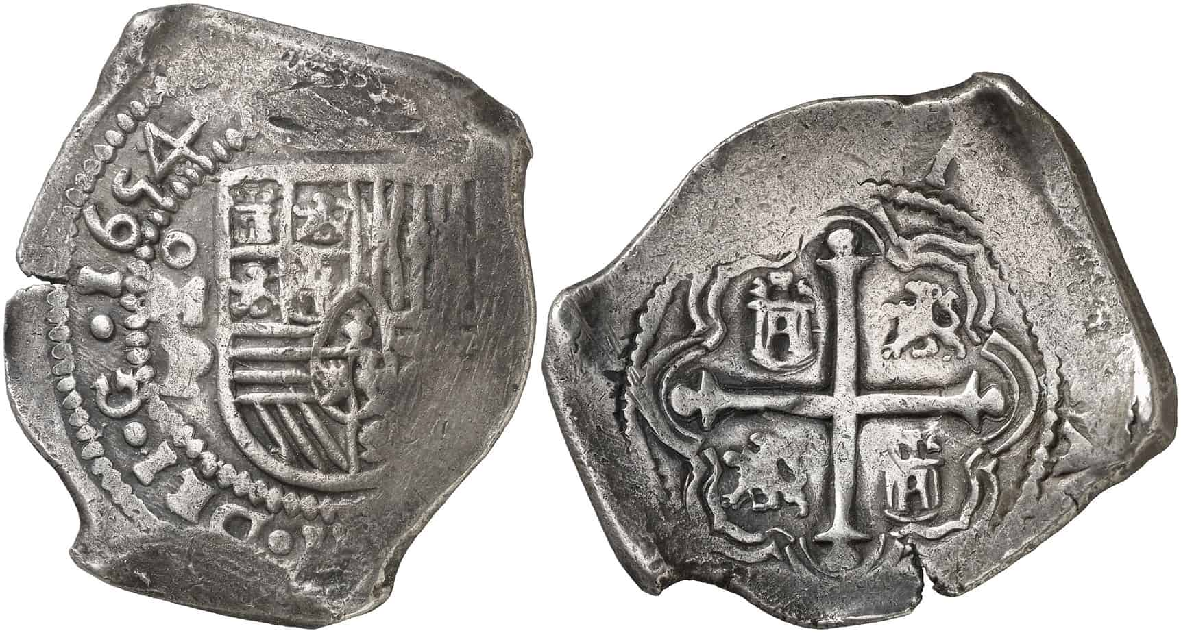 8 reales México 1654