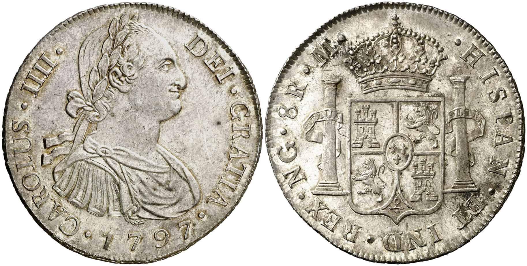 Invertir en 8 reales del Imperio Español