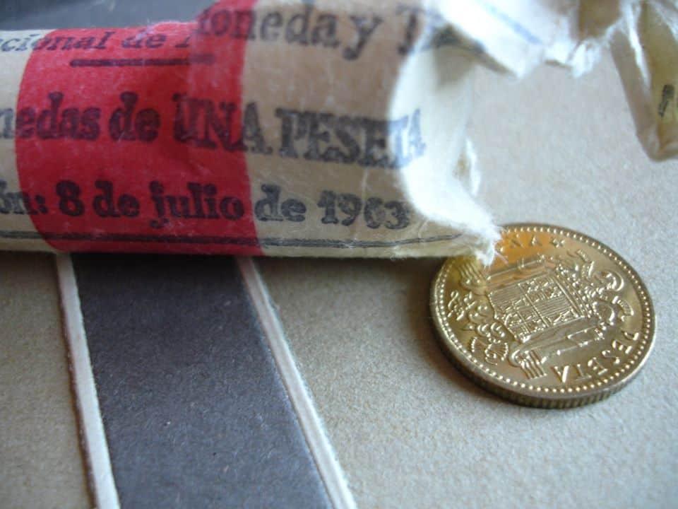 cartucho de pesetas