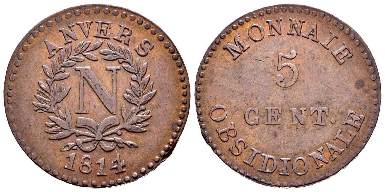 5 cent monnaie obsidionale