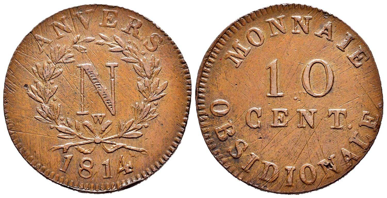 10 cent monnaie obsidionale