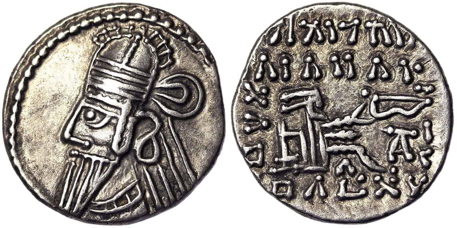 dracma Artabanos II