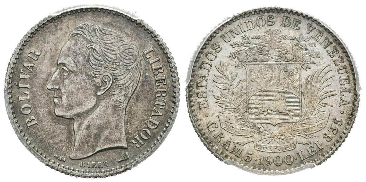 1 Bolívar 1900