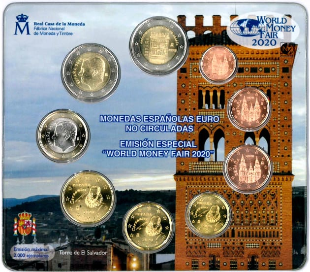 cartera España World Money Fair 2020