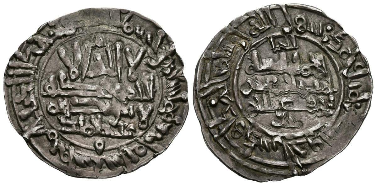 Dirham de Hisham II, ceca de Fez