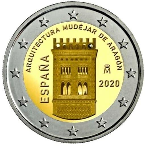 2 euros España 2020