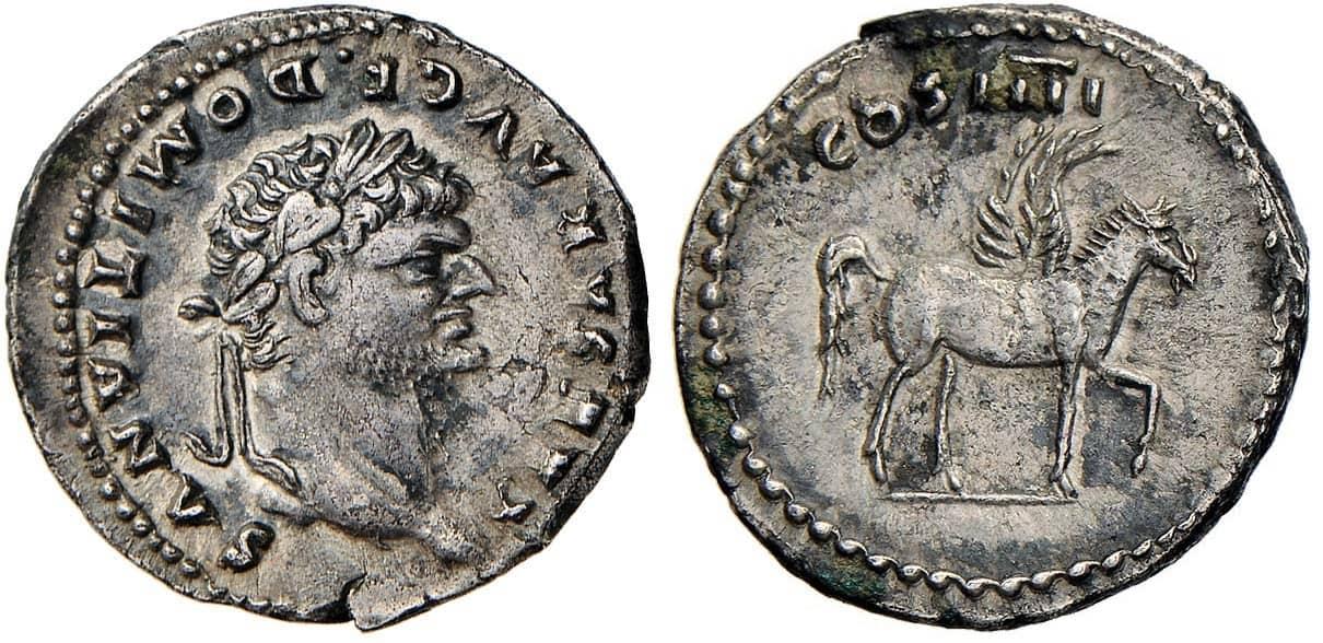 denario Domiciano