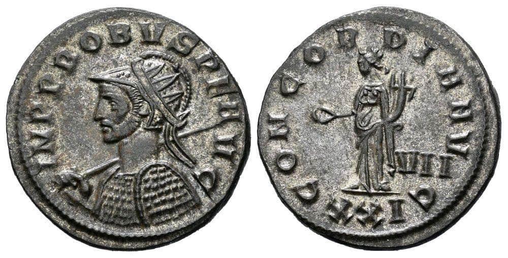 Antoniniano de Probo, ceca de Siscia