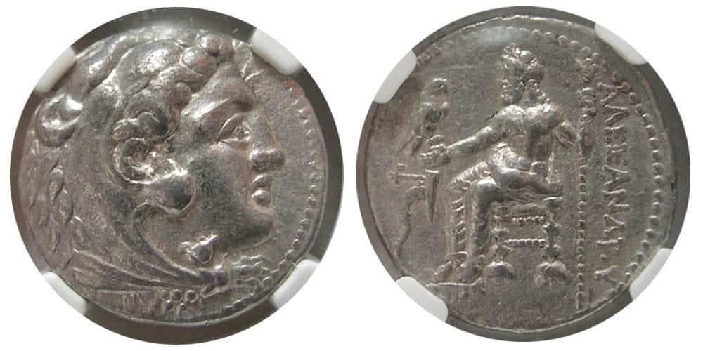 Graduar monedas griegas y romanas