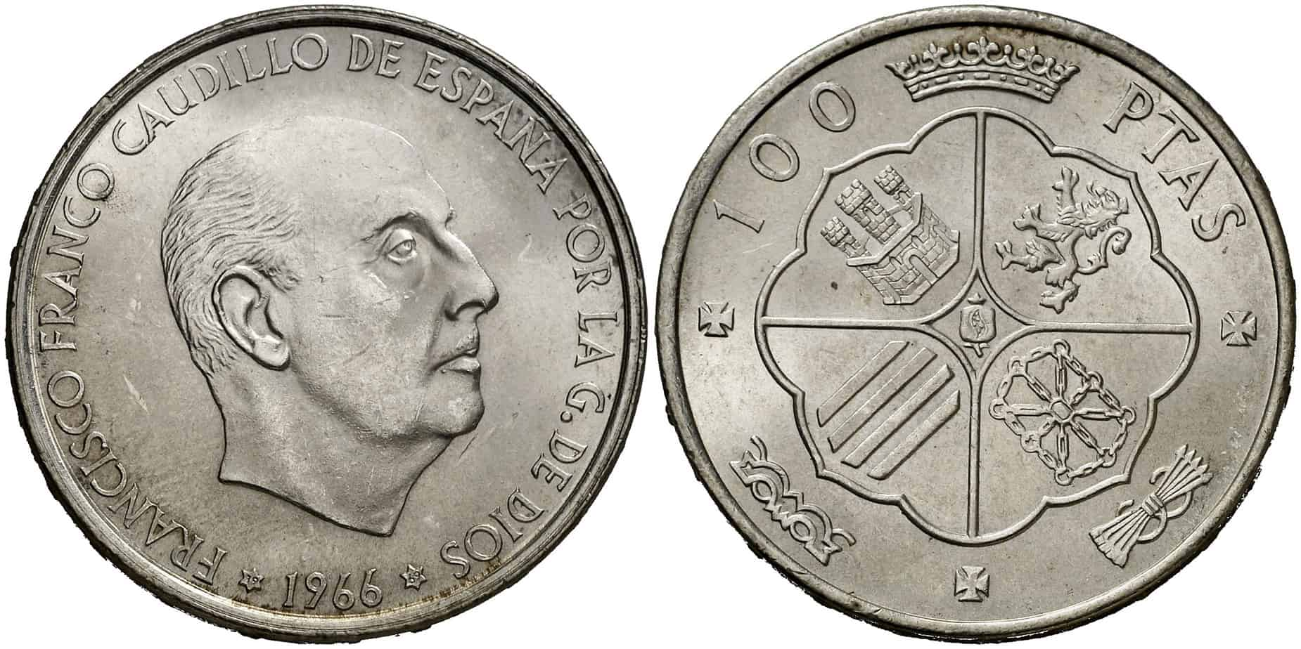 100 pesetas Franco