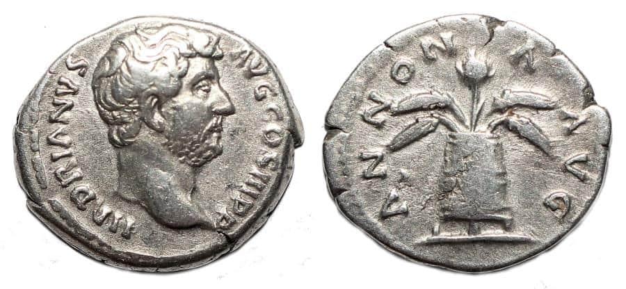 Hadrian Denarius