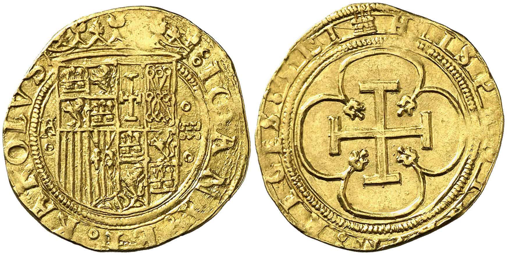 escudo de Segovia, Carlos y Juana