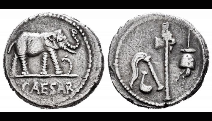 Denario de Julio César
