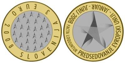 Las monedas de 3 euros