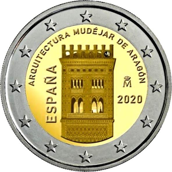 2 euros de 2020