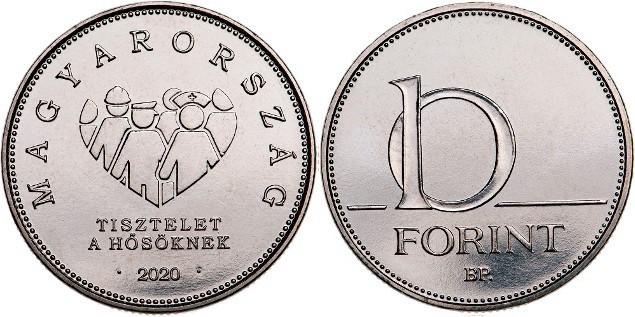 10 florines 2020, Hungría