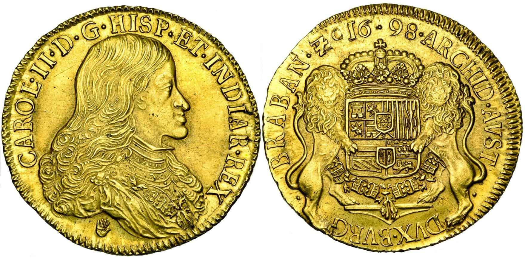 8 soberanos de Amberes, 1698