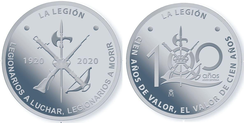 medalla FNMT 100 Aniversario de la Legión