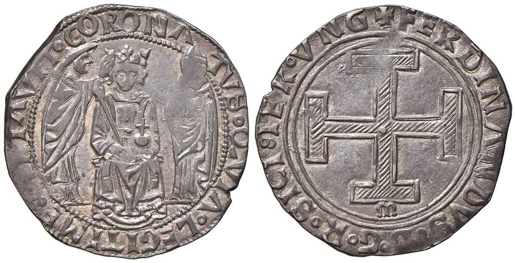 Coronado de Fernando I de Nápoles
