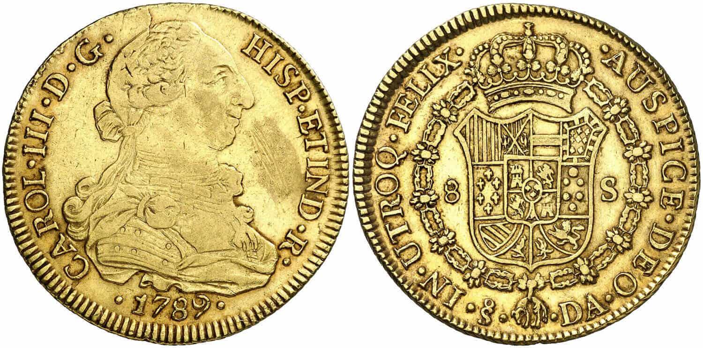 8 escudos Santiago