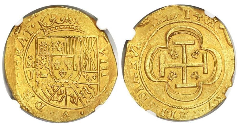 8 escudos 1714 GRAT