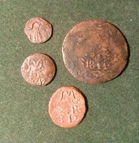 monedas de Morelos