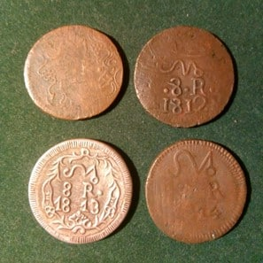 8 reales SUD 1811-1814