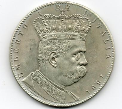 5 táleros Eritrea falsos