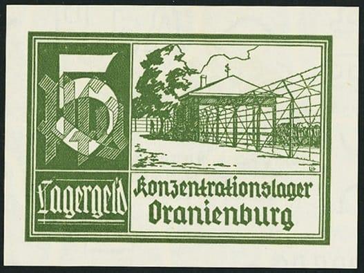 Oranienburg, 5 pfennig