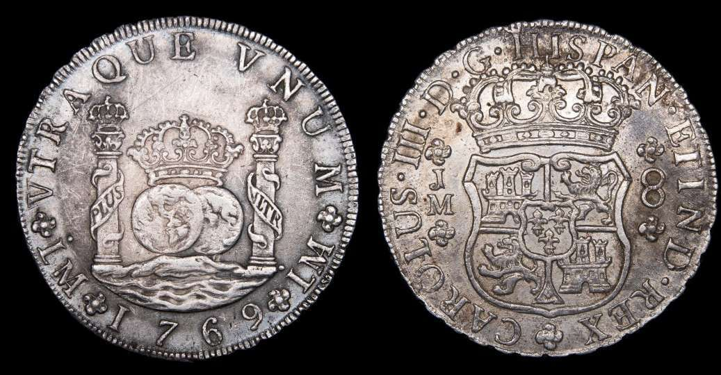 8 reales Lima, 1769