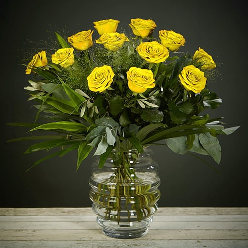Ordersend yellow rose delight flowers online bloom magic bloom magic flower delivery ireland whats more special than receiving the classic gift of mightylinksfo
